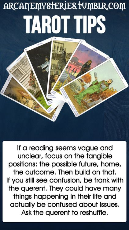 Tarot Tips.