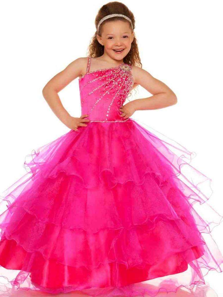 Hot Pink Flower Girl Dresses Pink Flower Girl Dresses Pinterest