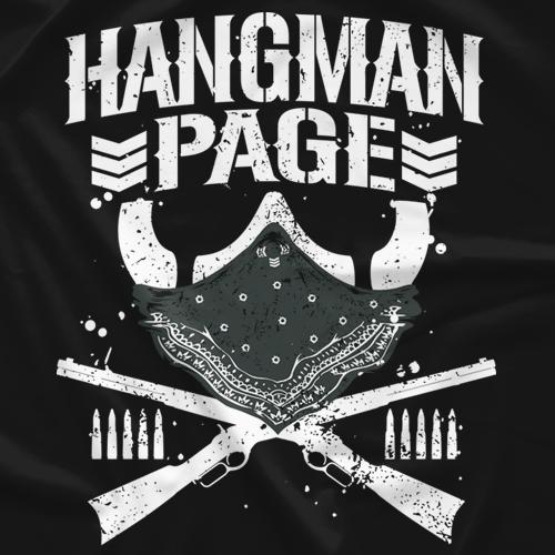 New Japan Pro Wrestling Bullet Club Hangman Page T Shirt Bullet Club Logo Japan Pro Wrestling Wrestling Stars