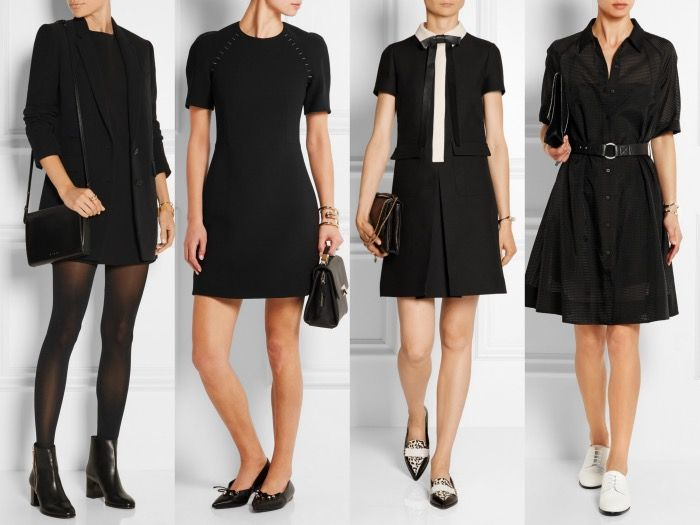 Fashionable Shoes to Wear with Black