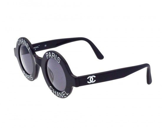 25eb9c9516b49 DIY  Vintage Chanel Inspired Pearl Round Sunglasses!