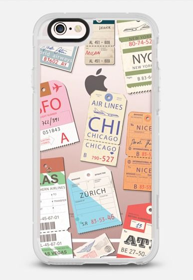 Iphone _airlinetags iPhone 6s case by Kciafa | Casetify