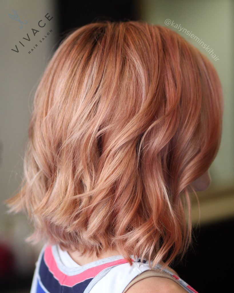 Medium Rose Gold Hair Find Your Perfect Hair Style