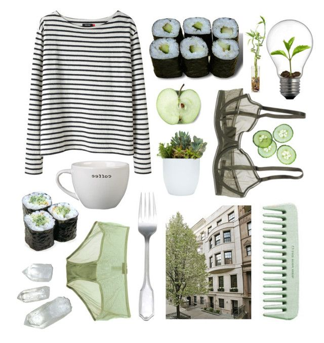 """Succulent"" by purite ❤ liked on Polyvore featuring Wood Wood, Cosabella, Bodas and Jura"