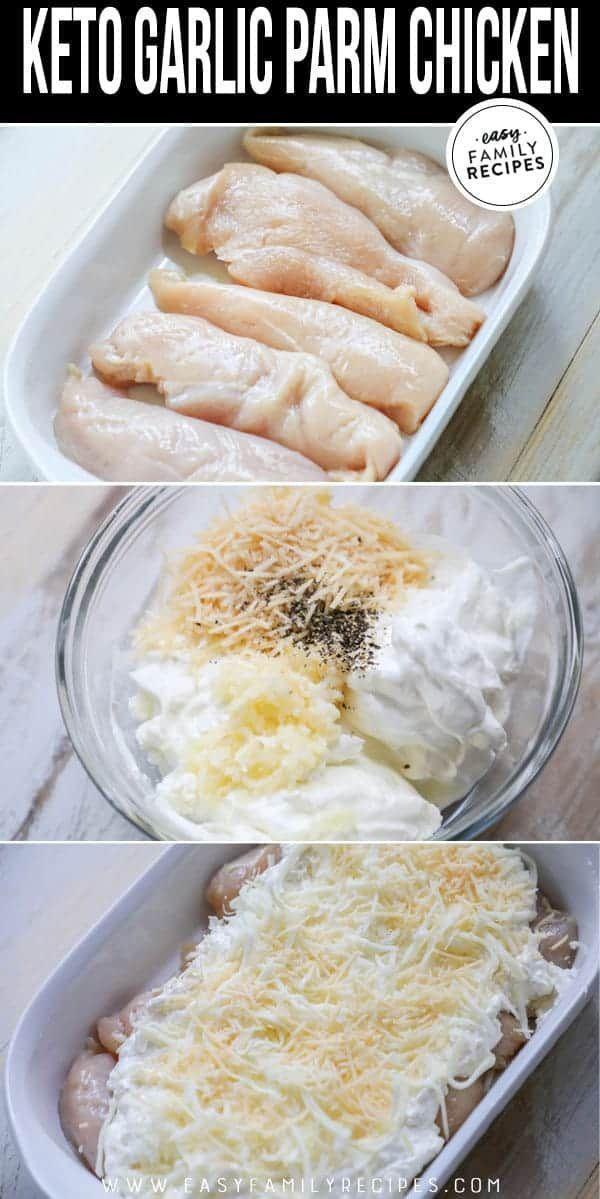 Photo of Dieses kohlenhydratarme Keto Knoblauch Parmesan Huhn ist unglaublich !! Zarte H…
