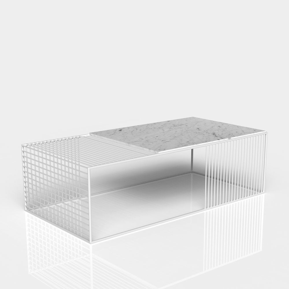 Wire Coffee Table Small Rectangle Iacoli Mcallister Wire Coffee Table Coffee Table Marble Coffee Table [ 1000 x 1000 Pixel ]