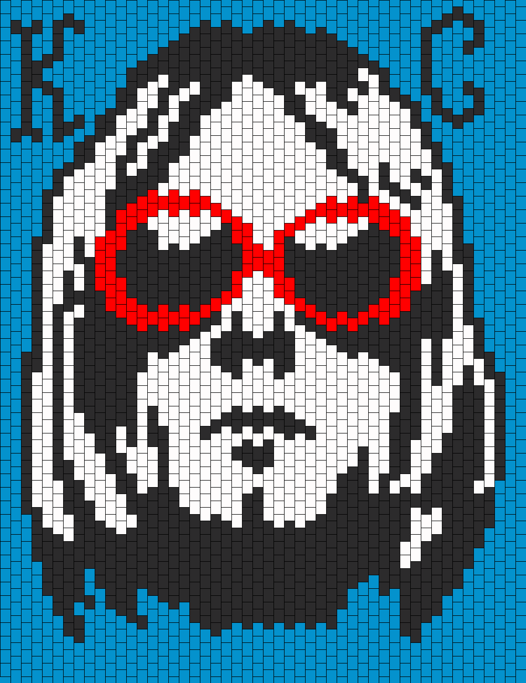 Kurt D Cobain Nirvana Pannel Bead Pattern Cross Stitch