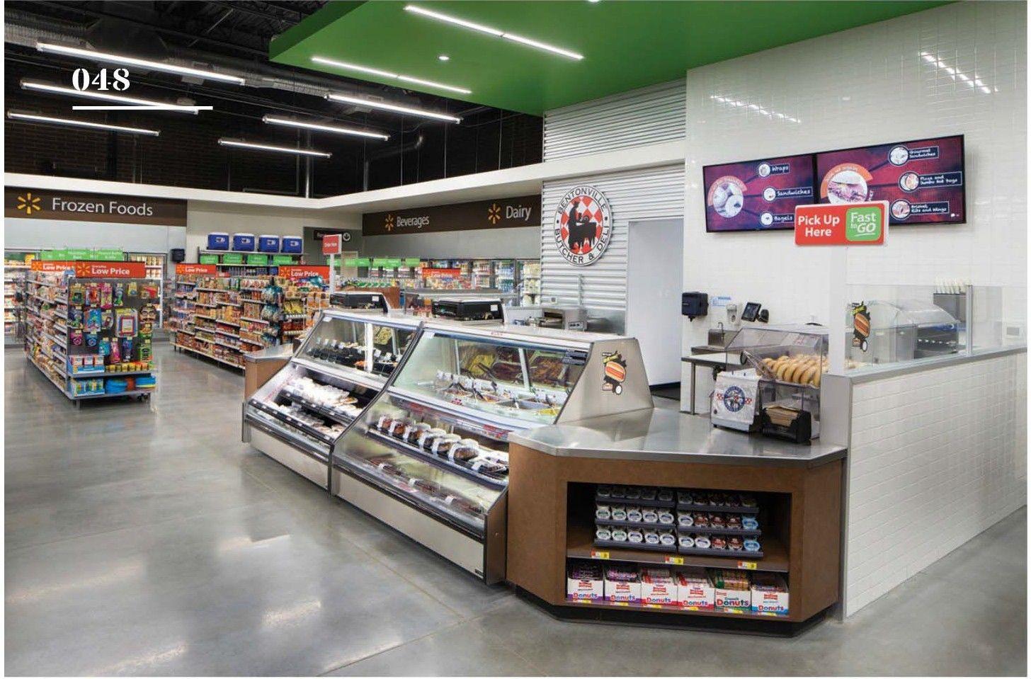 Walmart To Go Test Store Supermarket Design Interior