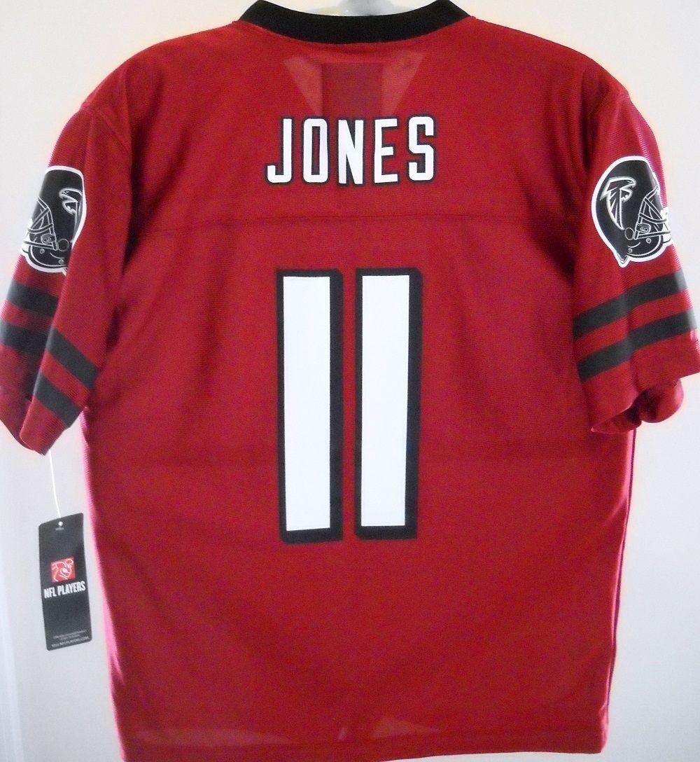Julio Jones Atlanta Falcons Name Number 11 Kids Youth Small 6 7 2 Sided Jersey Nfl Players Julio Jones Fan Apparel