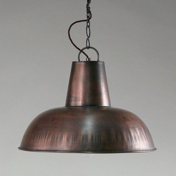 h ngelampe cosy kupfer industrial style pendant light cosy copper industrial vintage. Black Bedroom Furniture Sets. Home Design Ideas