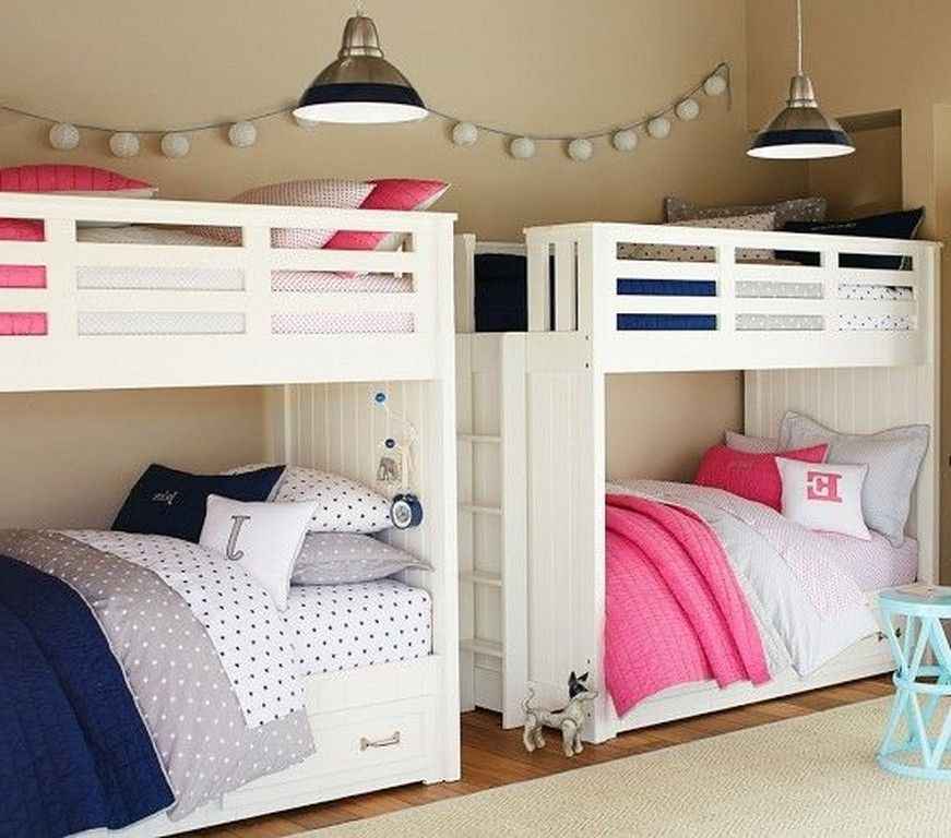 Girls Bedroom With Bunk Beds Fresh Bedrooms Decor Ideas Boy Girl Shared  Kids Activities Blog