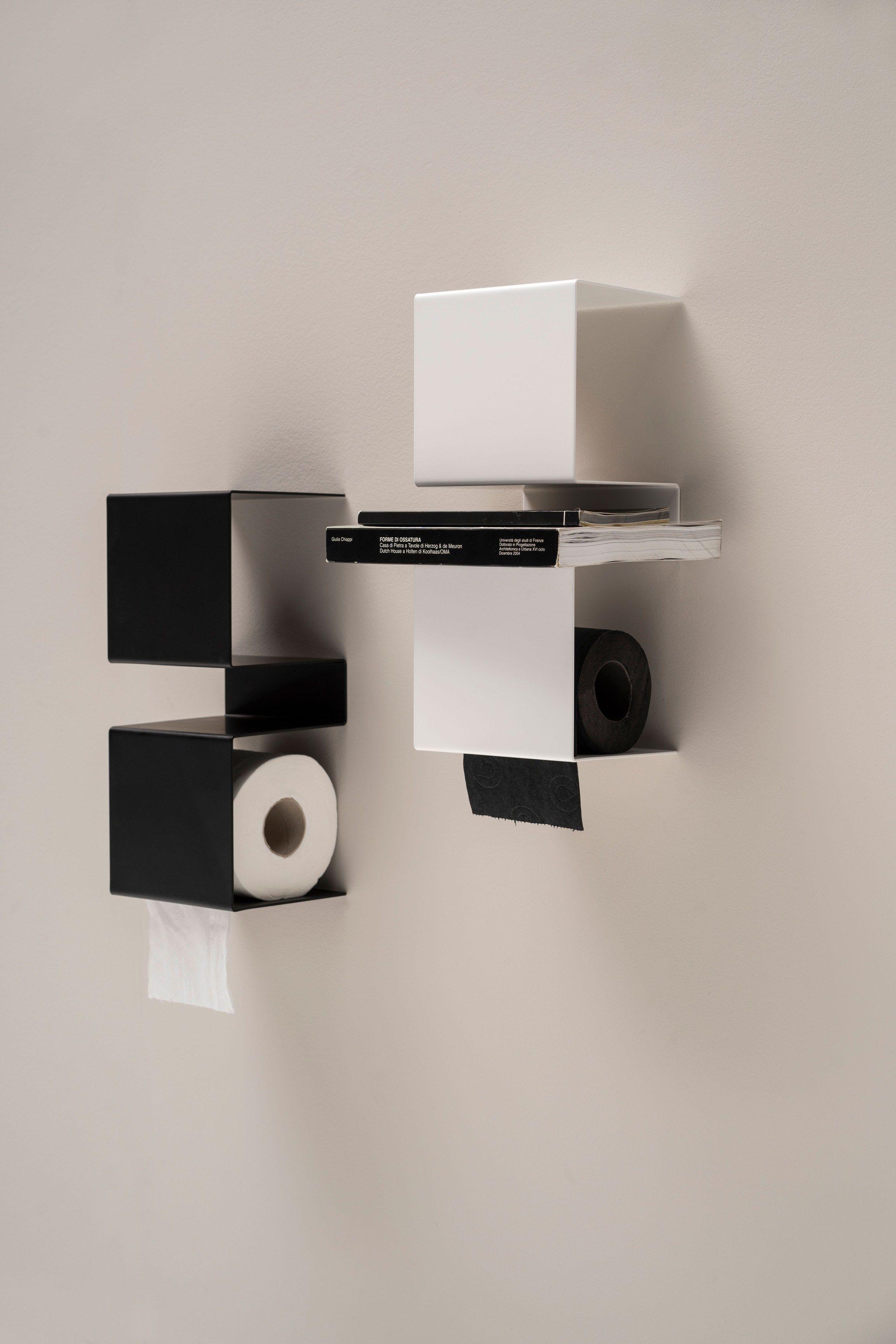 Perfect Stainless Steel Toilet Roll Holder INTEAM By Ex.t Design Ariane März