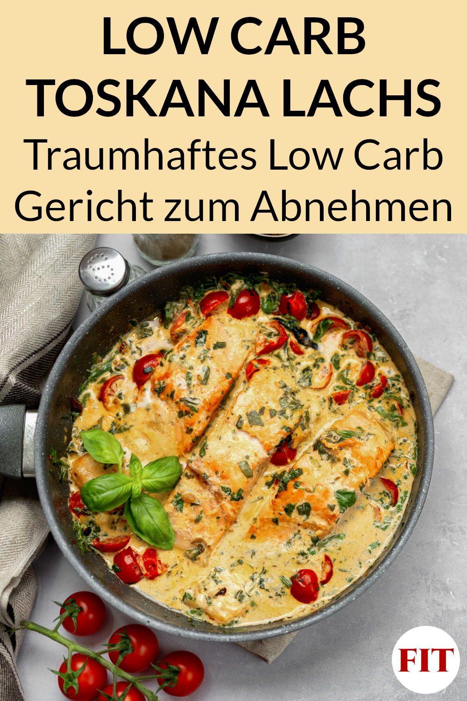 Photo of Toskana Lachs Anweisung – Low Carb Essen durch Fisch