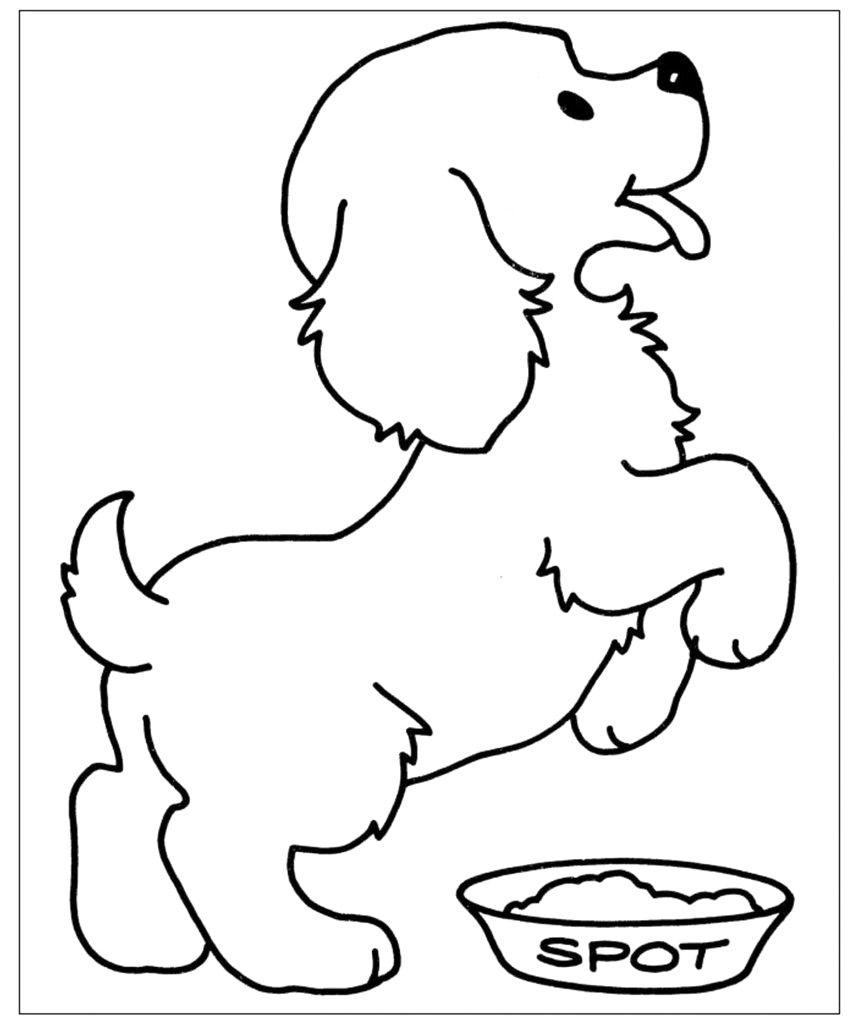 Pin Di Amitha Pramila Su Cuccioli Disegni Di Cane Idee Per Disegnare Disegni Da Colorare