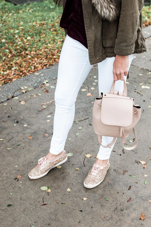 c07be2ae5ac Kate Spade x KEDS Glitter ShoesEdit description  glittershoes ...