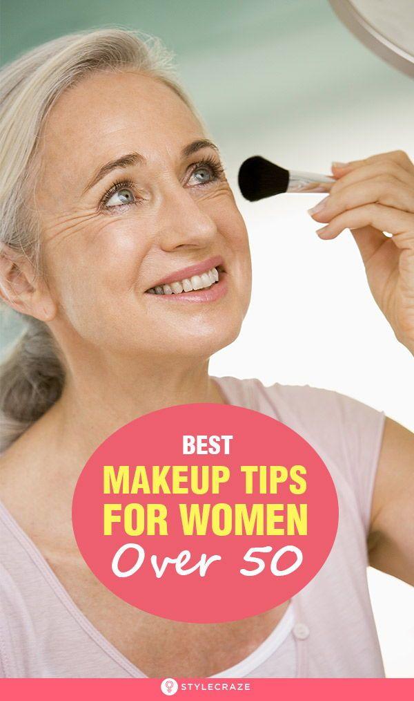 20 Best Makeup Tips For Women Over 50