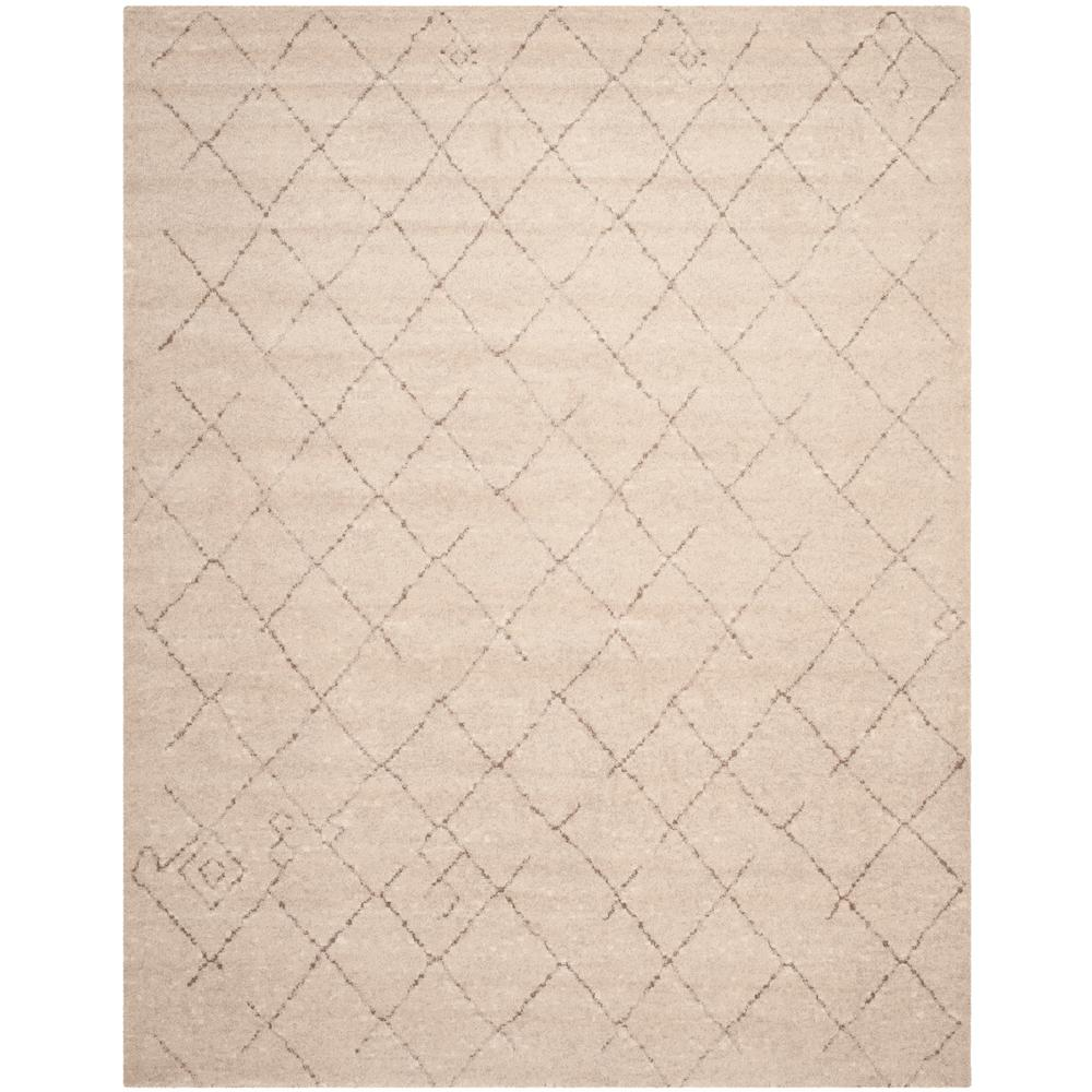 Safavieh Tunisia Ivory 9 Ft X 12 Ft Area Rug Tun1511 Kmk 9 The Home Depot Geometric Area Rug Ivory Rug Area Rugs