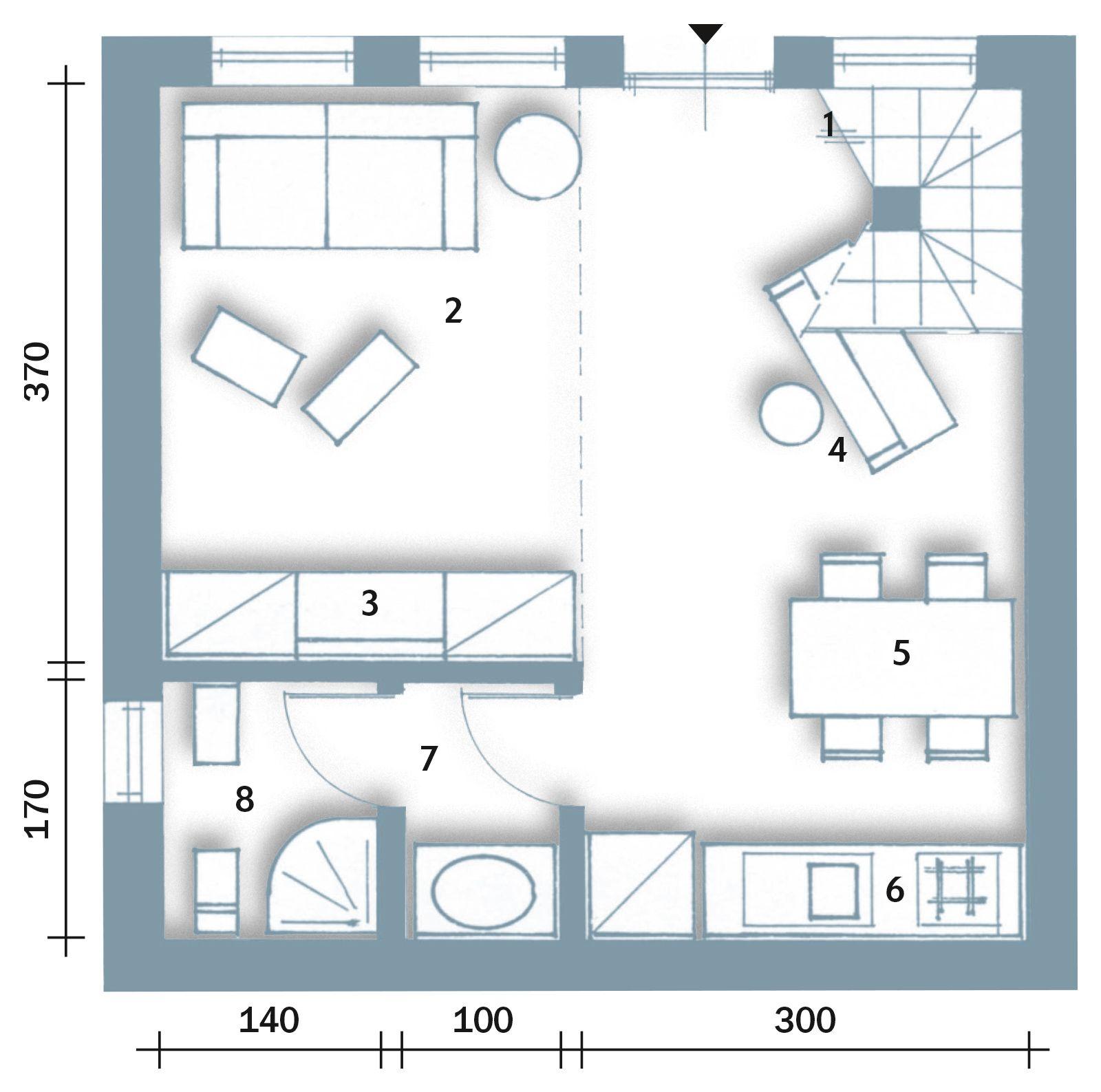 Affordable with planimetria di una casa for Miglior design della planimetria
