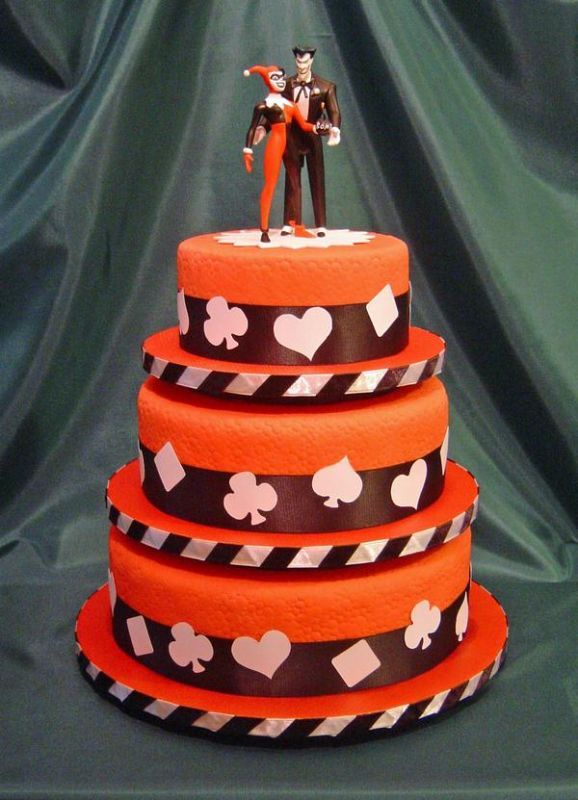 Harley Quinn And Joker Wedding Cake Topper D Wedding Ideas 3