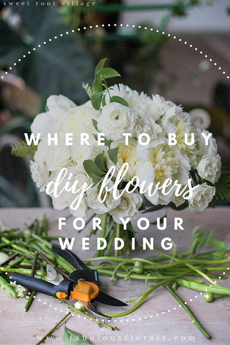 The DIY Brideus  resource for DIY wedding flowers Fabulous Florals
