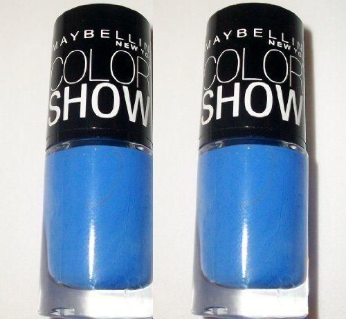Maybelline Color Show Limited Edition Nail Polish - 985 Pacific Blues (2 Pack)
