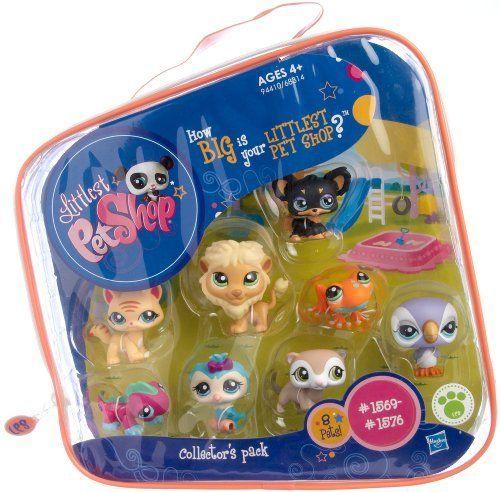 Amazon Com Littlest Pet Shop 2 Collectors Pack Of 8 Pets Frog