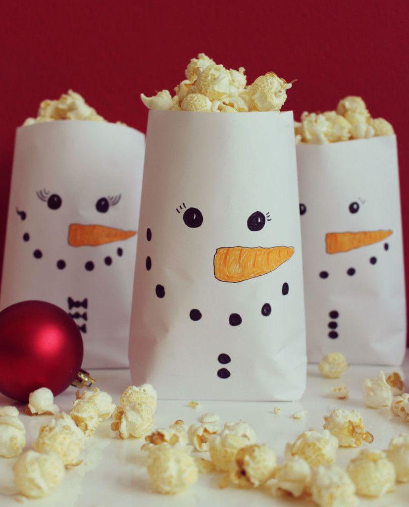 Weihnachtsfilme Und Popcorn Schneemänner | Mydays Magazin