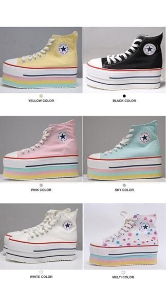 Platform Converse style shoes - what i ve been on the lookout for the past  few years 997f59b2517