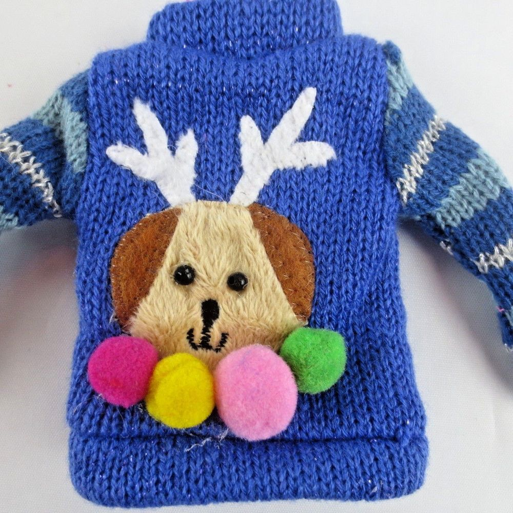 Christmas Ugly Sweater Made to Move MTM  and other Poseable Fashion Dolls