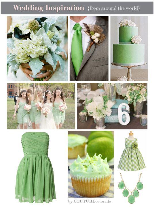 Mint Weddings Green Wedding Inspiration