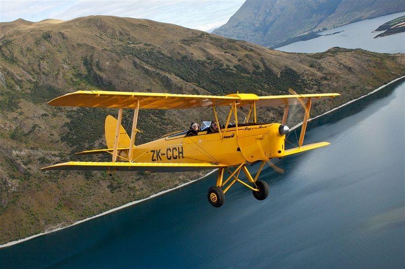 Open Cockpit Biplane/Vintage Aviation Aviation/Flights