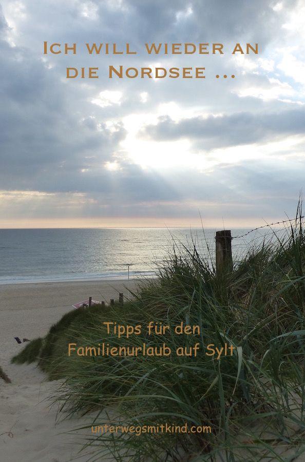 Nordsee mit Kindern Familienurlaub auf Sylt Familien