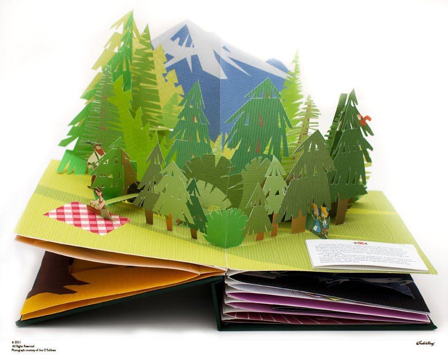 Открытки с лесом своими руками
