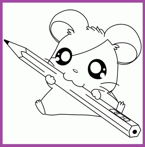 Animales Animados Para Colorear Draw Cute Baby Animals Cartoon Baby Animals Easy Animal Drawings
