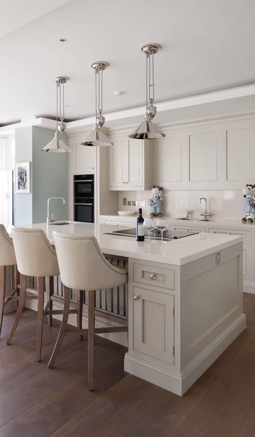 Pin By Pam Dale On Kitchen Ideas In 2020 Transitional Kitchen Open Plan Kitchen Living Room Kitchen Design