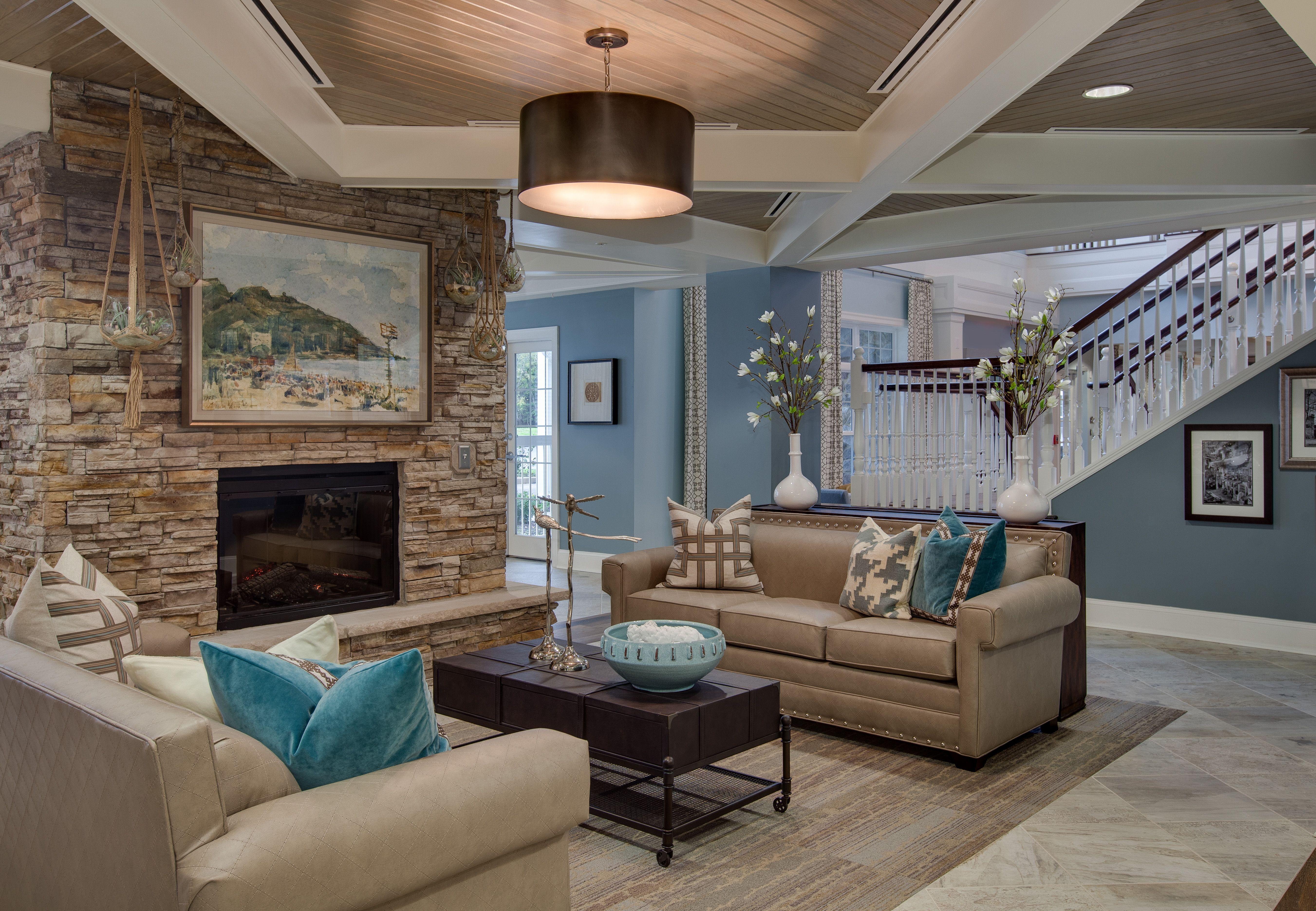 Senior Living Designed by Faulkner Design Group #luxury # ...