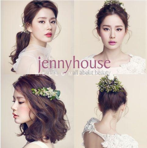 Korea Pre Wedding Photo Make Up And Hair Korean Style Makeup Korea Wedding Makeup Korea Famous Wedding Hair And Makeup Bridal Hair And Makeup Hairdo Wedding