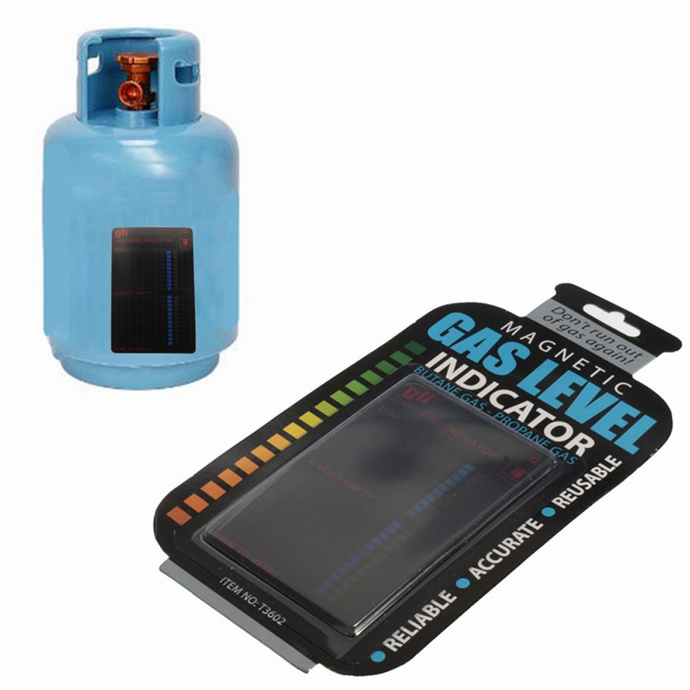 Magnetic Gas Cylinder Tool Gas Tank Level Indicator Propane Butane Lpg Fuel Gauge Caravan Bottle Temperature Measuring Stick Gas Gas Tanks Measuring Stick