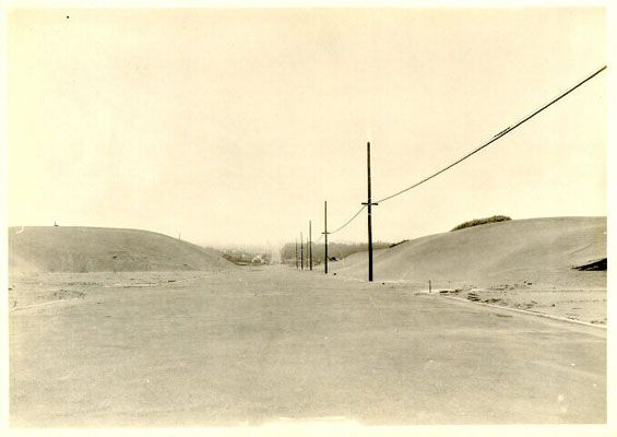 Vicente at 41st Avenue  1928