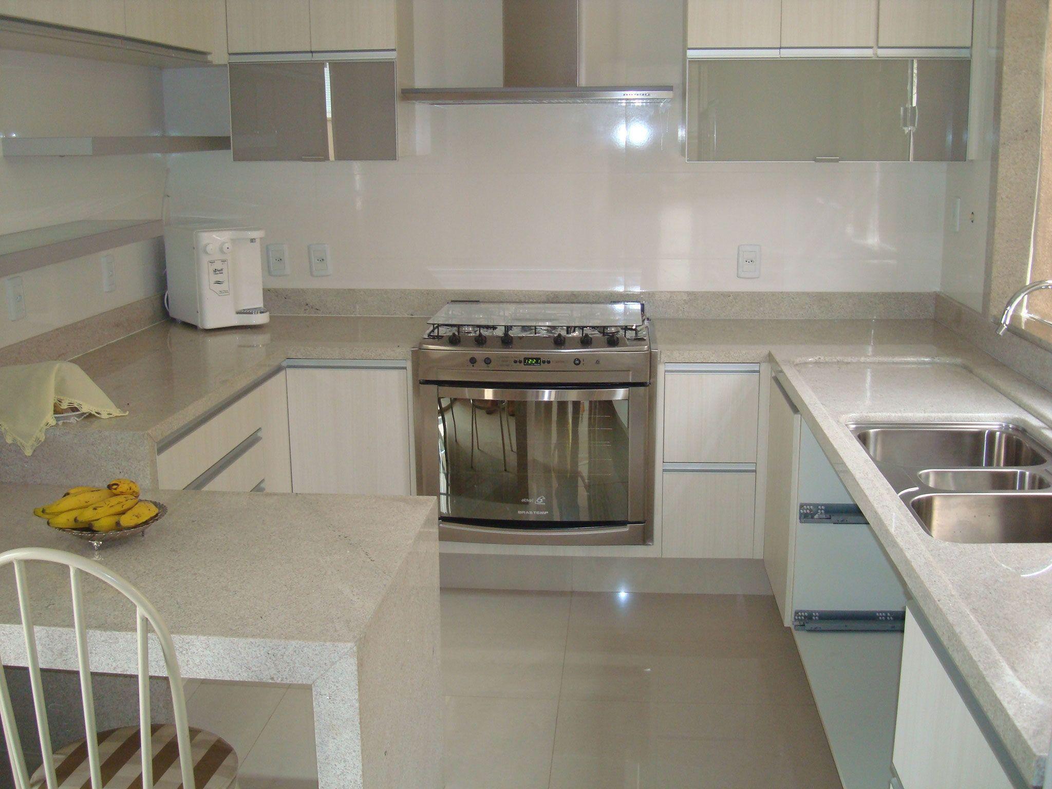 Cozinha Em U Clara Home Pinterest Kitchens Beach House
