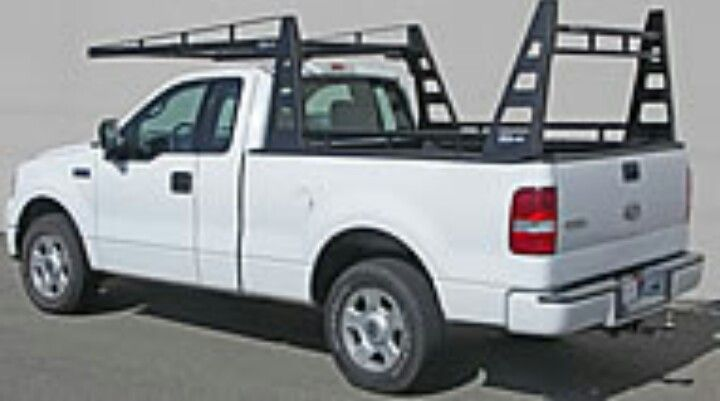 Truck Pipe Rack >> Hotshot Ford F150 With Custom Pipe Rack Hotshot Driver Truck