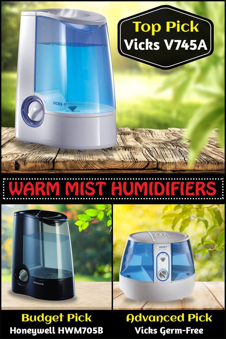 Top 5 Warm Mist Humidifiers (Feb. 2020) Reviews & Buyers