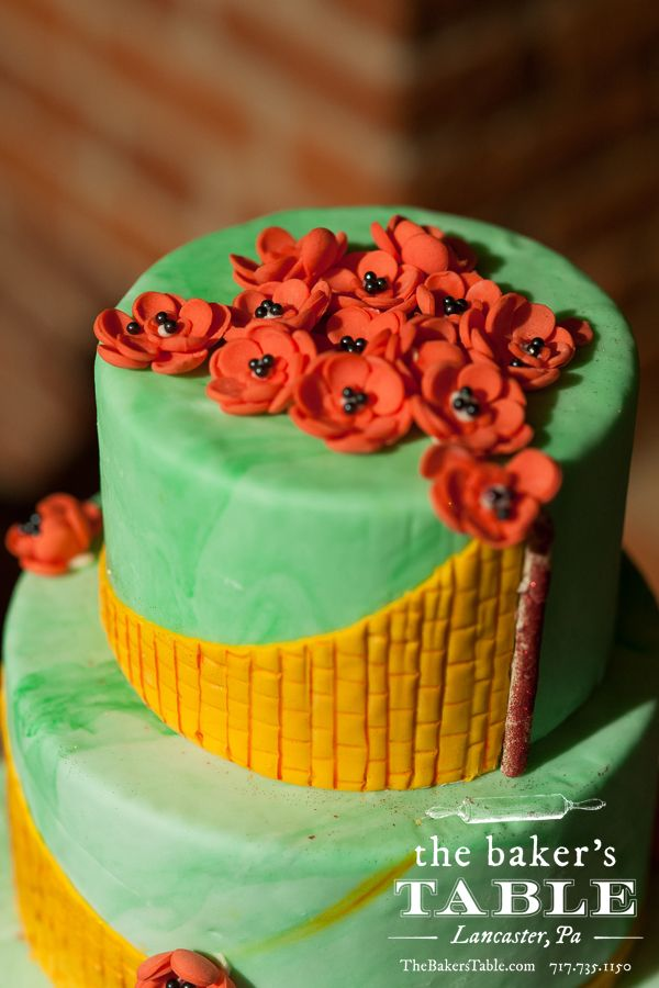 how to make emerald green fondant