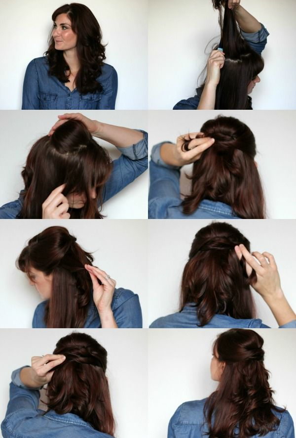 Twisted Half Up Hair Tutorial Nice Hairstyles And Kate