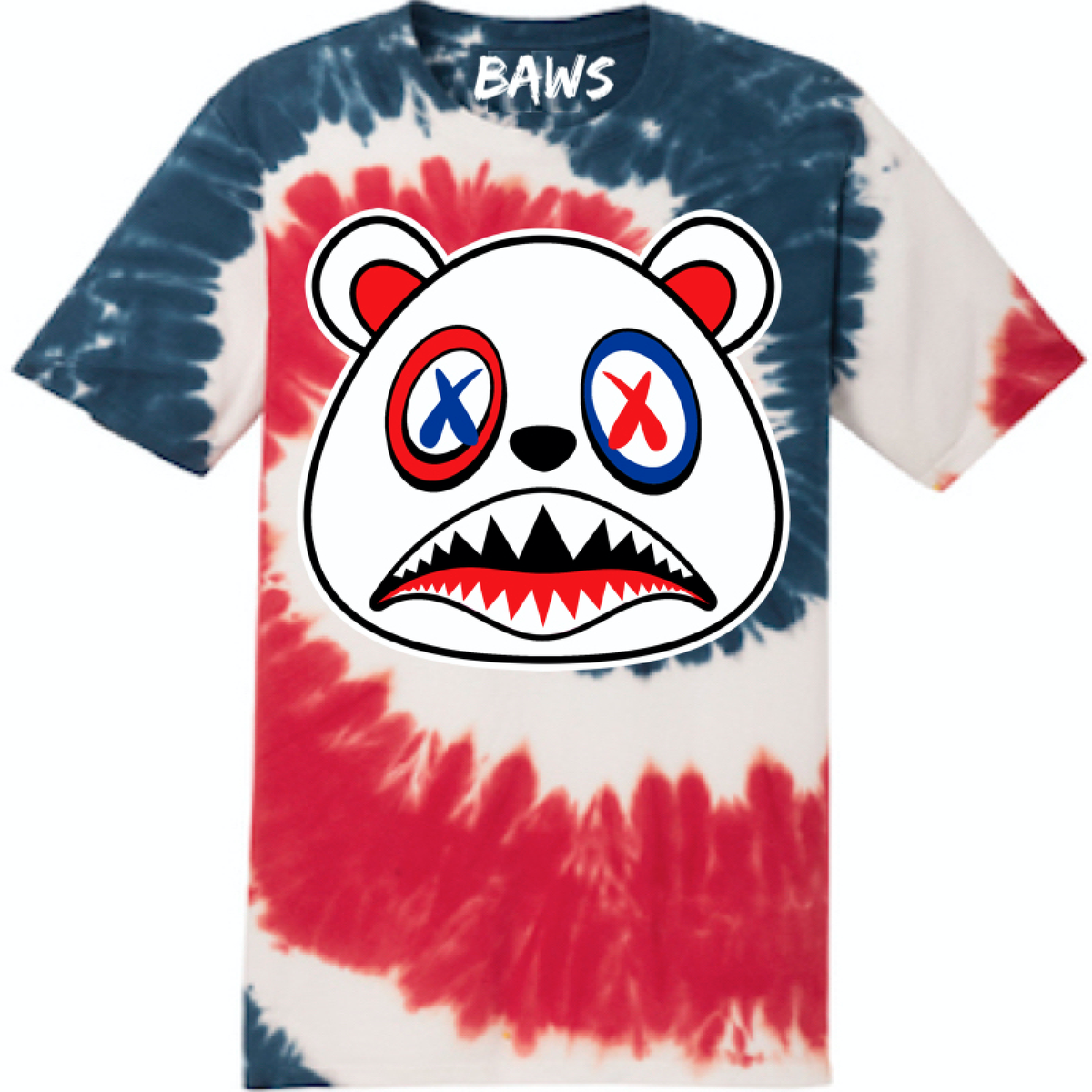USA Baws Flag Tye Dye Shirt 4th of July shirt is available on our online  store. 2e15b554cf
