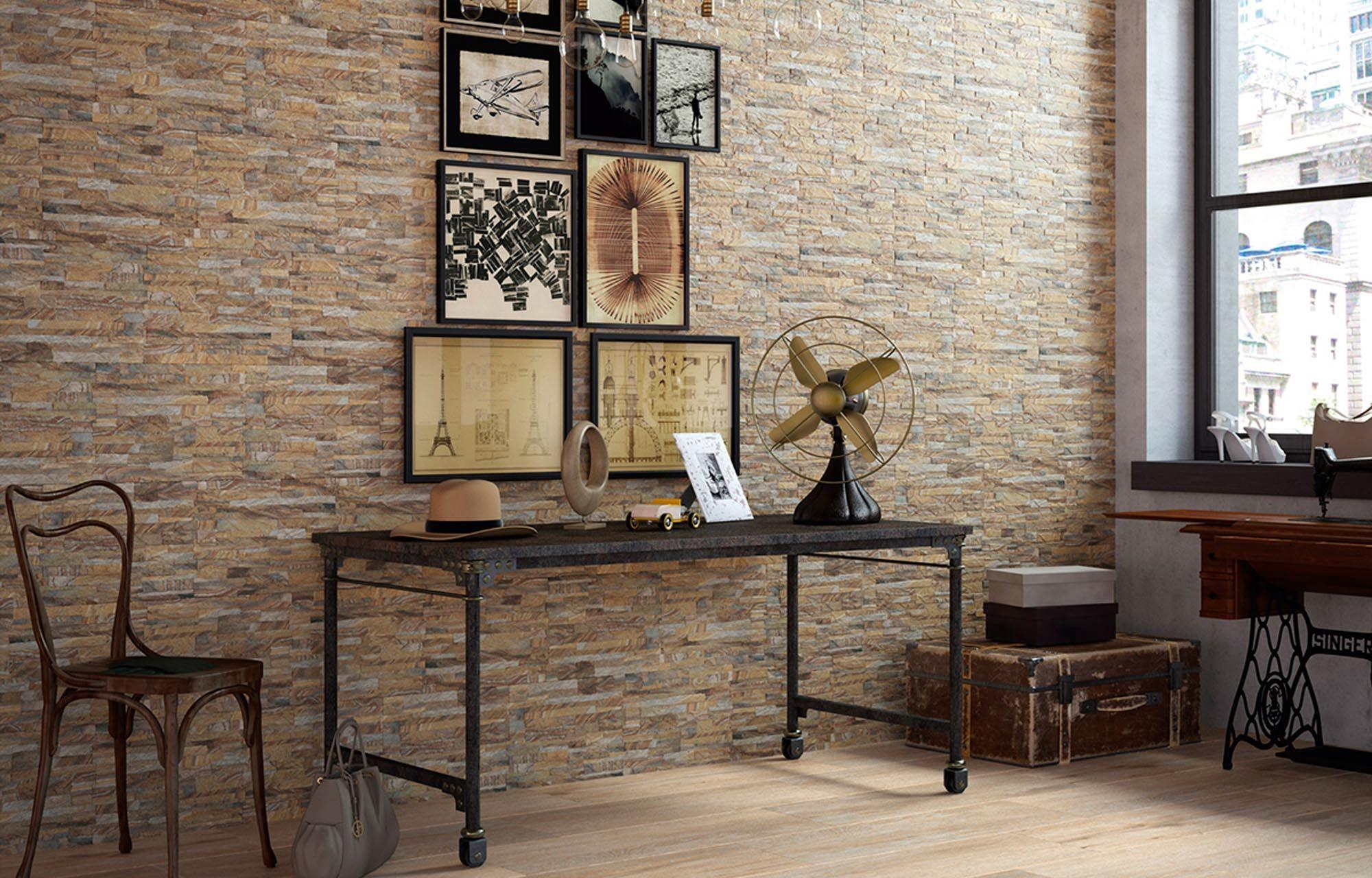 Revestimiento interior para ambientes r sticos y elegantes - Revestimientos ceramicos ...