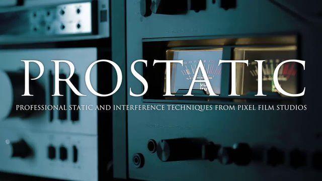PROSTATIC - Professional Static Effects Plugin for Final Cut