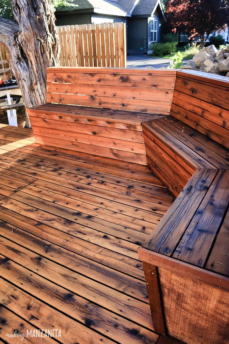 How To Restore A Deck That Has Been Neglected Making Manzanita