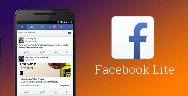 free facebook lite app download for android