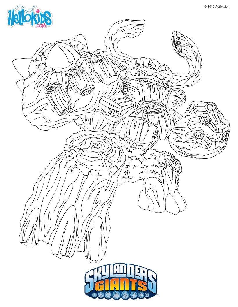 Lujoso Libro Para Colorear Skylander Motivo - Ideas Para Colorear ...